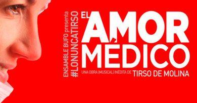Un Tirso lírico-dramático en El amor médico