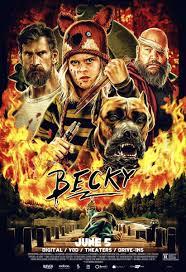 Cartel de la película Becky - Festival de cine fantastico y de terror de Sitges, 2020