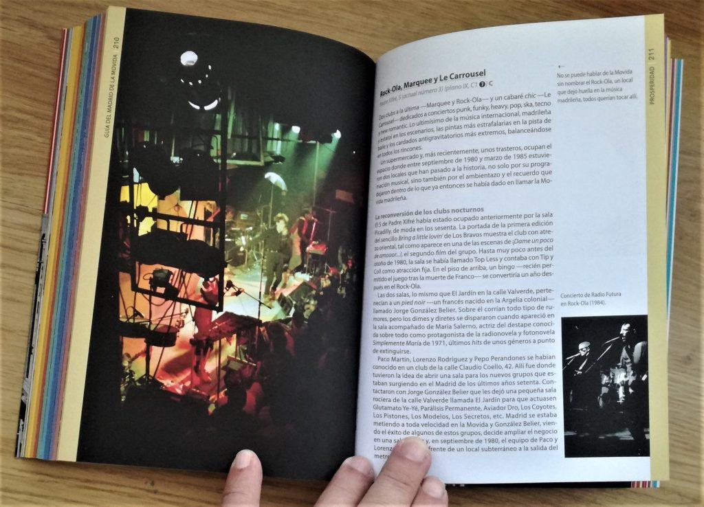 Presentacion libro Guía del Madrid de la Movida Fotografía de Javier San Vicente