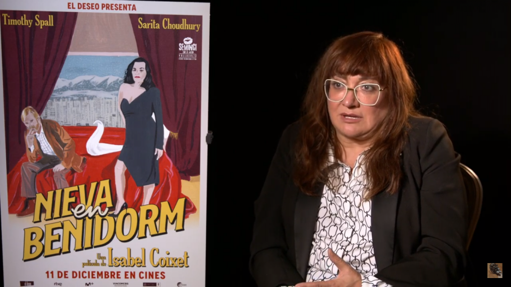 Isabel Coixet en la entrevista