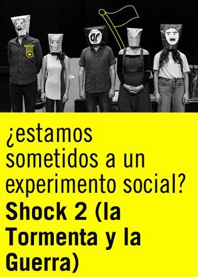 La segunda parte de Shock se va a llamar La tormenta y la guerra. Andrés Lima