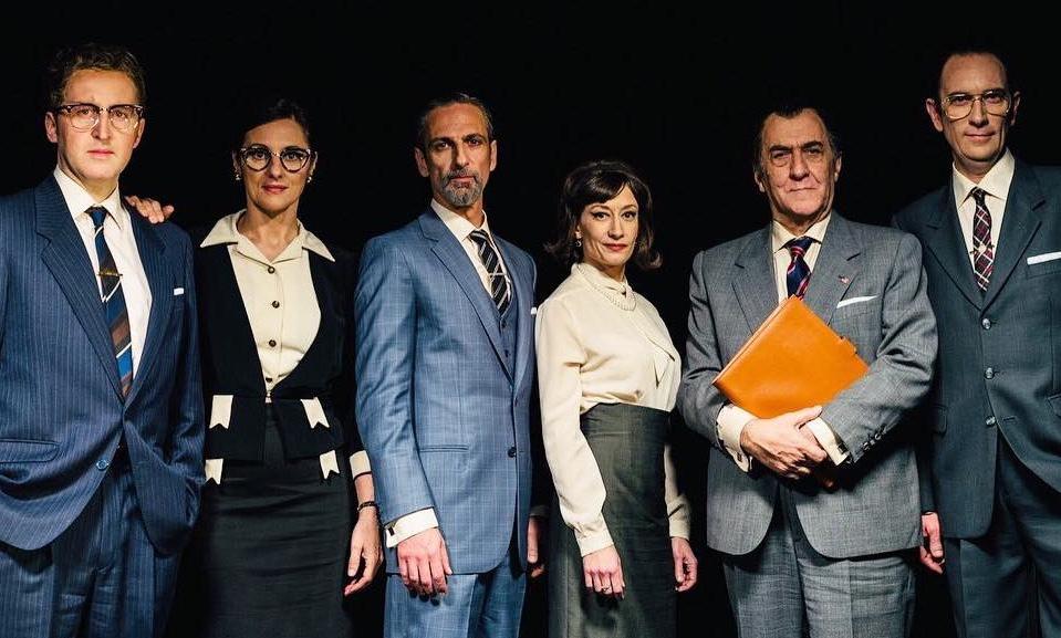 Intérpretes de la obra de Teatro Shock