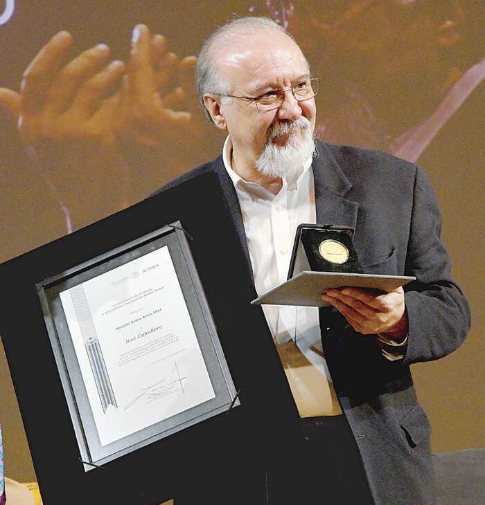 José Caballero, Premio Bellas Artes