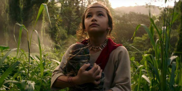 Kaylee Hottle, actriz que interpreta a Jia, se comunica en lengua de signos americana en GODZILLA VS. KONG