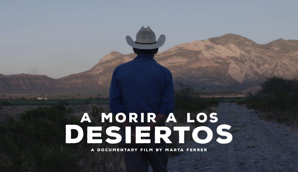 Poster de A  morir en los desiertos