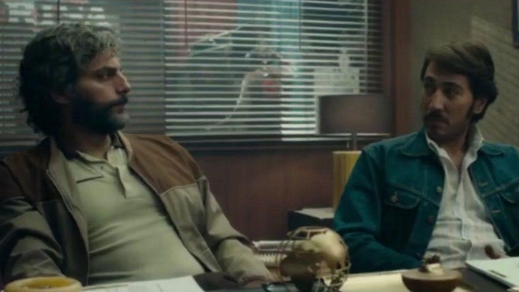 El año de la furia. Leonardo (Joaquín Furriel) y Diego (Alberto Ammann), los guionistas protagonistas