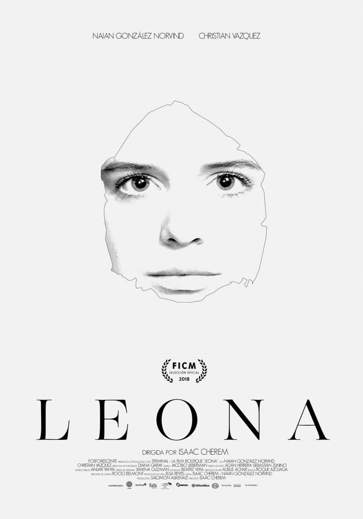 Cartel de la película Leona. Directora de casting: Rocio Belmont.